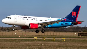 Slovak Government Flying Service Airbus A319 OM-BYK